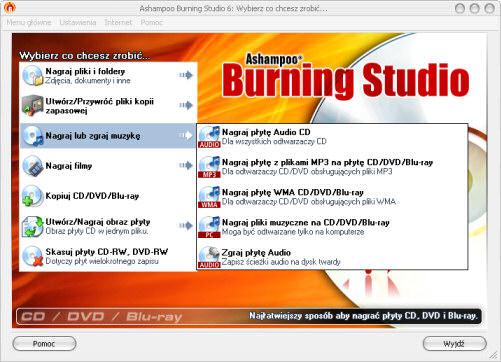 Ashampoo Burning Studio 6