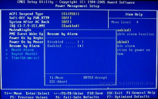 Automatyczne uruchamianie komputera