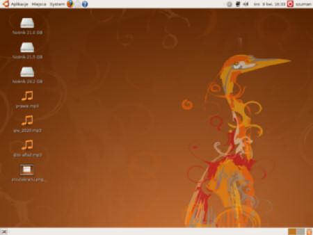 Ubuntu Hardy Heron Beta