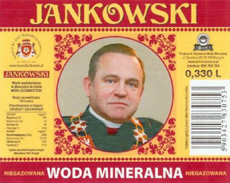 Woda mineralna Jankowski