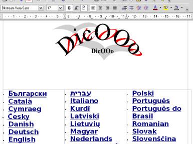 Instalacja słowników w OpenOffice